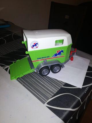 playmobil n41 remolque para caballos
