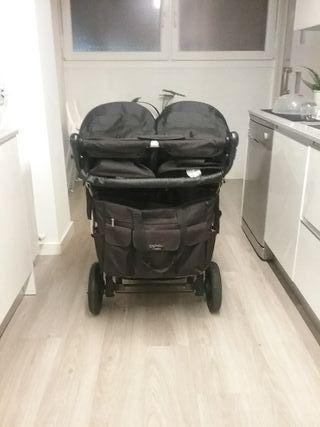 carrito gemelar mountain buggy duet