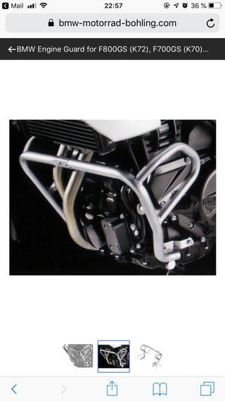 Defensas motor bmw f700gs