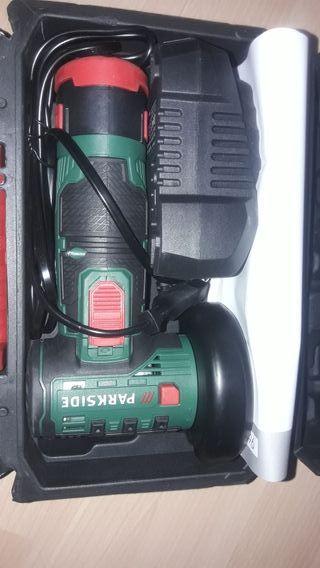 amoladora eléctrica recargable