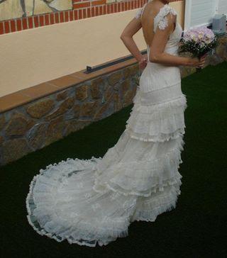 Vestido de novia Yolan Cris modelo Veronica