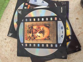 PACK 5 LASER DISC