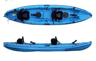 Kayak dos personas + niño