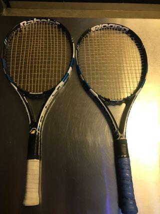 Babolat pure drive Roddick pareja de raquetas