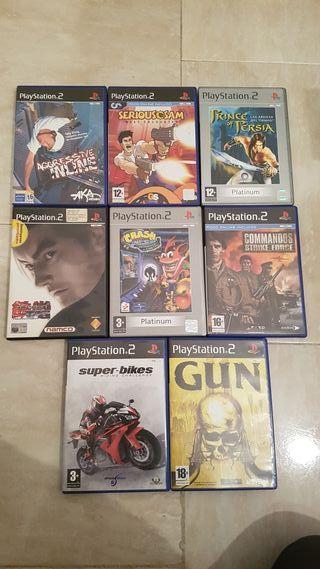 8 juegos de ps2