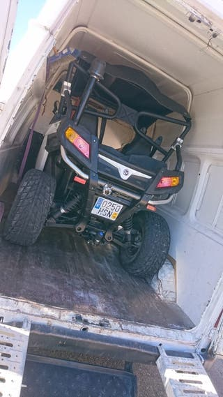 portes mudanzas motos quad buggies