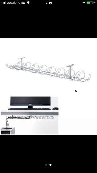 Regleta para cables horizontal. Ikea