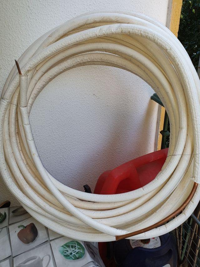 tubo doble aire acondicionado