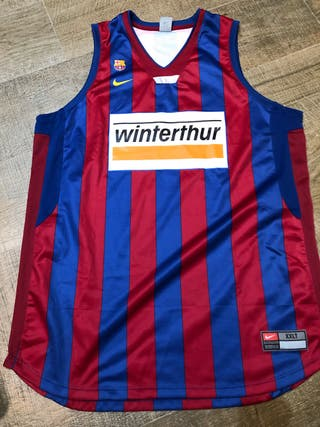 Camiseta barça baloncesto