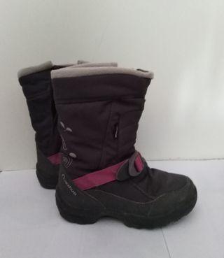 botas de nieve niña talla 31