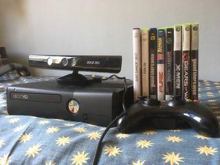 Xbox360 kinect mando y juegos