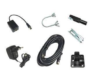 Xoro SAT200216 - Antena (5 dBi, 0.0875-0.23/0.47-0