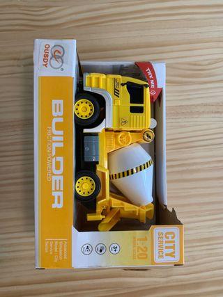 Camión amarillo juguete