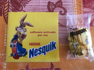 Micrófono y Software de Nesquik
