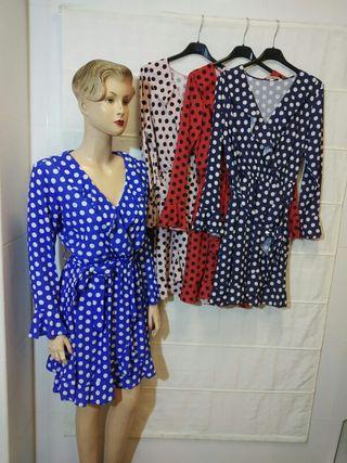 vestido de lunares 7€