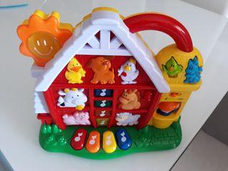 juguete granja musical bebé