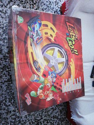 circuito let's go y coche