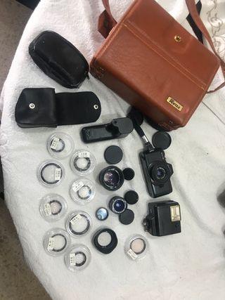 Camara pentax asahi auto 110 + accesorios