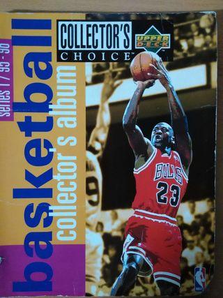 Album Cromos NBA '95-96 (series 1) UPPER DECK