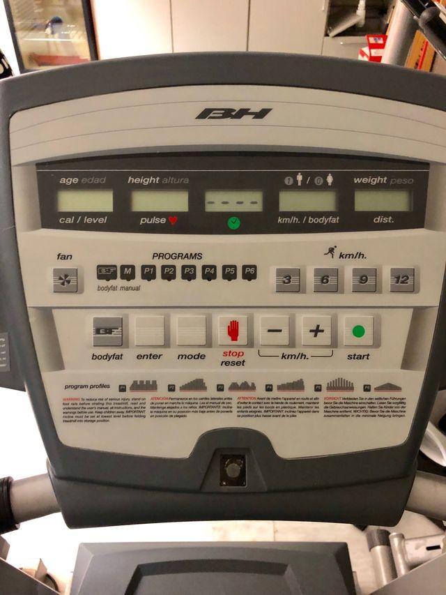 Cinta de correr BH fitness Pioneer