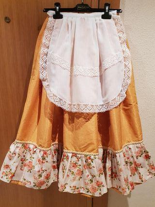 falda huertana niña