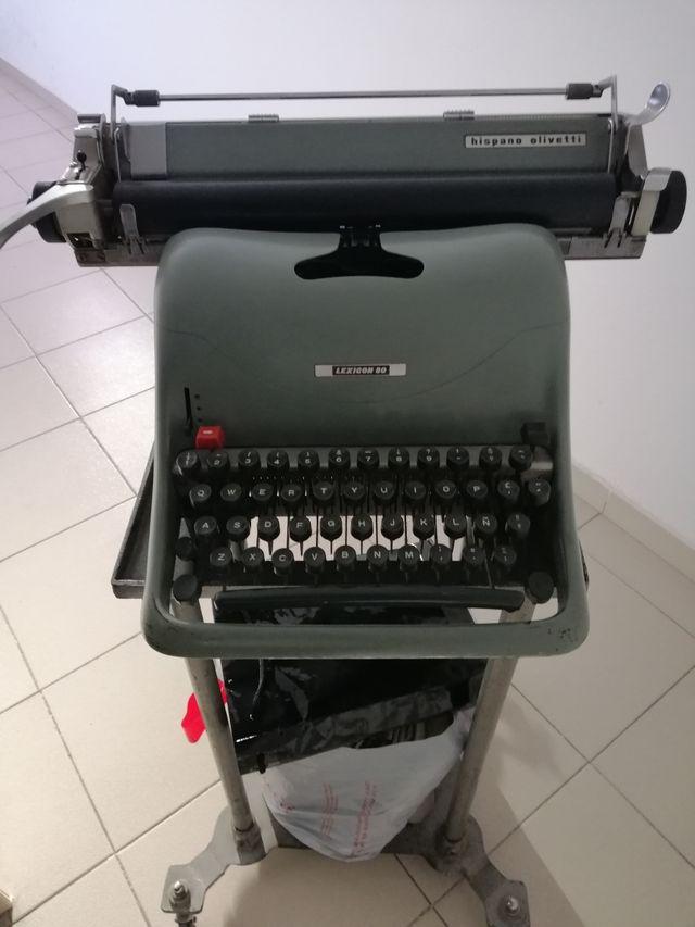 Máquina antigua de escribir