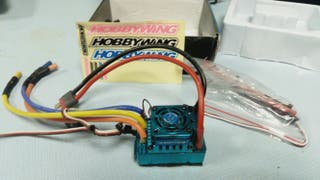 variador hobbiewing 120 a con sensor