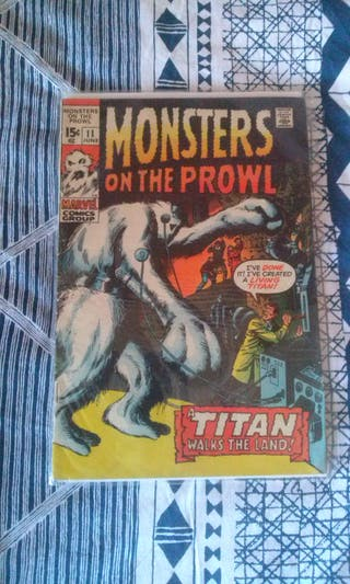 Monsters on the Prowl Vol 1 #11 (June 1971)