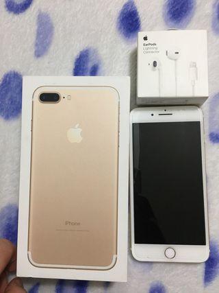 Iphone 7 128 gb Plus Dorado