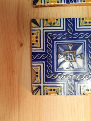 4 azulejos decorativos