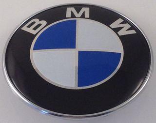 Emblema insignia anagrama Bmw