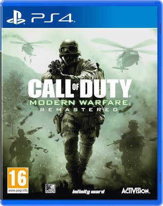 Call Of Duty Modern Warfare 4 (Remastered) (ps4)