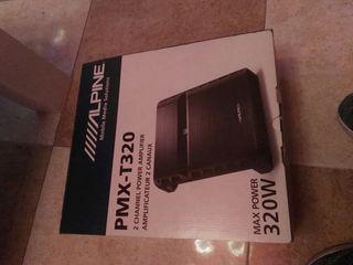 amplificador alpine nuevo 320 w