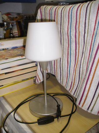 Lámpara de mesa,base y estructura de metal