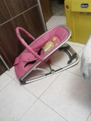 hamaca rosa para bebes