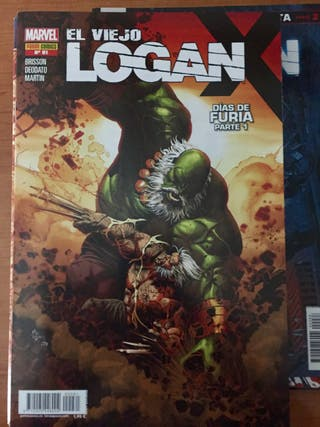 Cómics El Viejo Logan