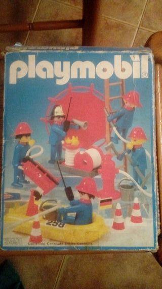 Playmobil caja vacia
