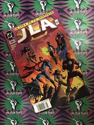 JLA (LA LIGA DE LA JUSTICIA) TOMO #08 VID MORRISON