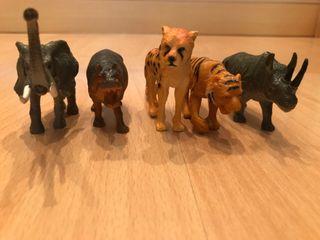 Colección 5 animales
