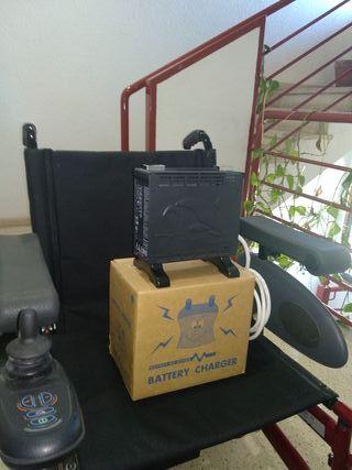 silla electrica rumba, con cargador.