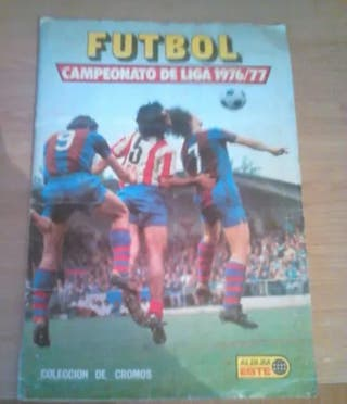 Album Futbol Liga 76/77 Este
