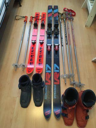 Esquís antiguos