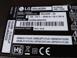 Repuestos TV LG 55UJ630V