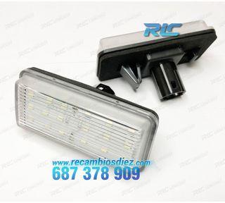 Luces de matrícula LED Toyota Land Cruiser J200 (0