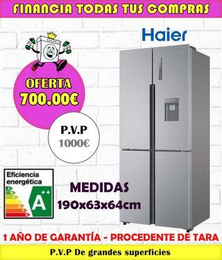 FRIGORÍFICO AMERICANO HAIER A++ 190x83CM