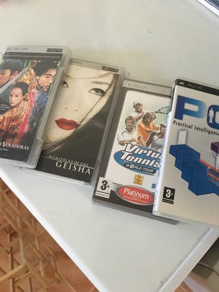 Juegos y peliculas PSP