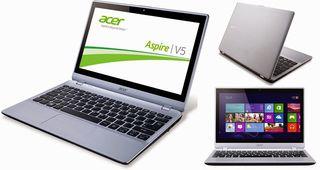 Portátil Acer V5-122P / A4 / Cam / SSD / Win10 Gra