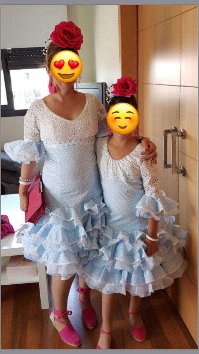 Trajes flamenca madre e hija