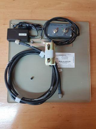 Antena planar wifi con amplificador Terabeam