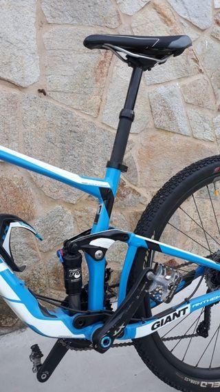 Bicicleta Giant Anthem doble suspensión talla S-M